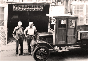 The shop of William Heiss, coachmaker.