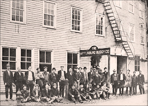 Workers at The Mifflinburg Buggy Company